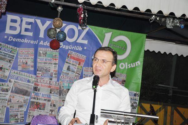 Beykoz'un Lideri Dost Beykoz 10. Yılını Kutladı