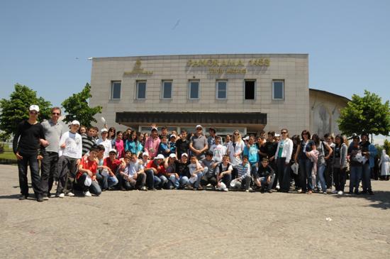 Genç yüreklerde Panoramik Müze heyecanı