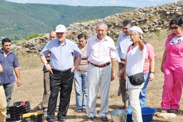 Yoros Kalesi'nde arkeolojik kazı!
