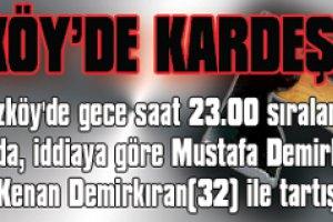 Poyrazköy'de kardeş vahşeti