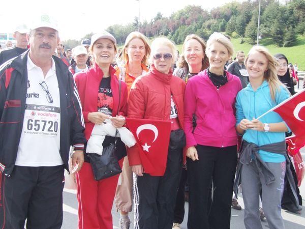 Avrasya Maratonu'nda Beykozlular