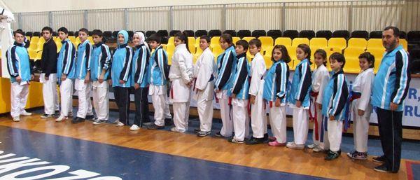 Beykozlu karateciler mutlu mu mutlu
