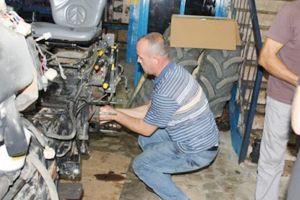 Kredi ile aldığı traktör çalışmıyor