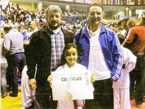 Beykozlu Minik Karateciden ikincilik