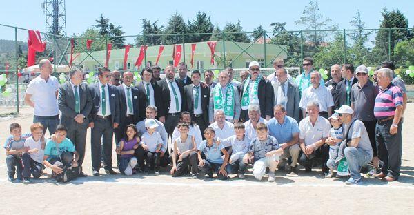 Örnekköy Kulüp Binası hizmete açıldı