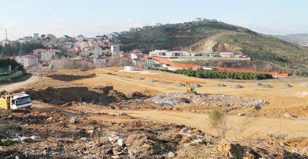 Beykoz Arena'nın inşaatı başladı