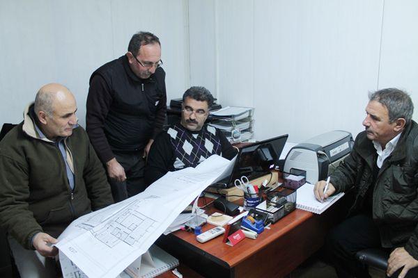 R. Şahin Köktürk'te hummalı çalışma var!