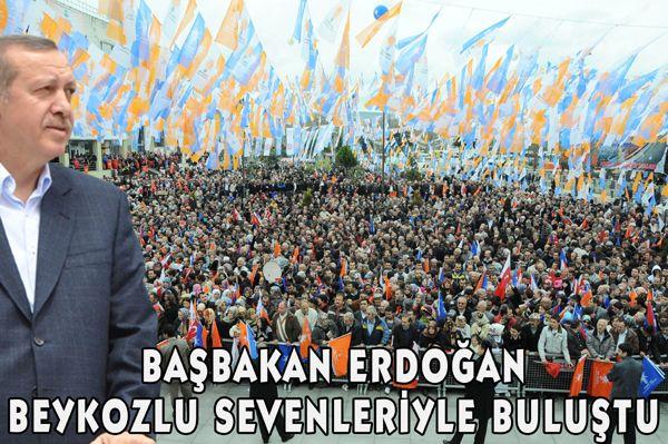Erdoğan Beykozlu sevenleriyle buluştu