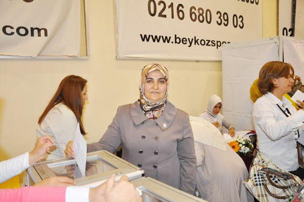 Sevim Gülşen ilk kez başkan seçildi