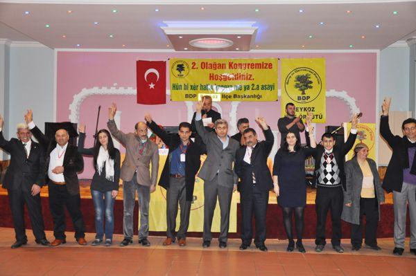 BDP Beykoz'da 2. Olağan Kongresini yaptı