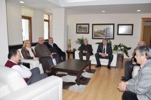 CHP'den Kaymakam'a taziye ziyareti