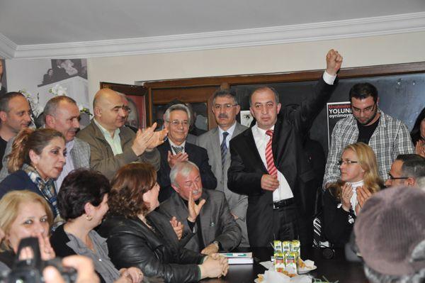 CHP Beykoz'da devir teslim yapıldı