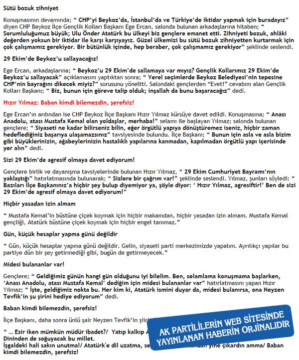 CHP'li Ege Ercan'dan keskin U dönüşü