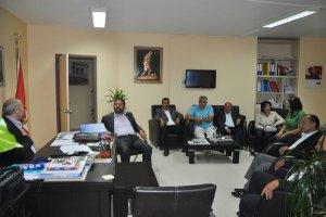 Başkan Bahadır Yavuz'a ilgi artıyor…