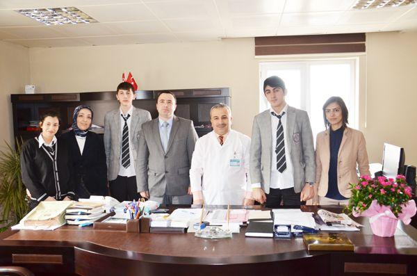 Dr. Yaşar Çelik'e 14 Mart Tıp Bayramı ziyareti