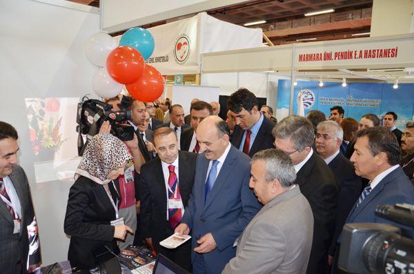 Dr. Yaşar Çelik Sağlık Bakanı'nı ağırladı