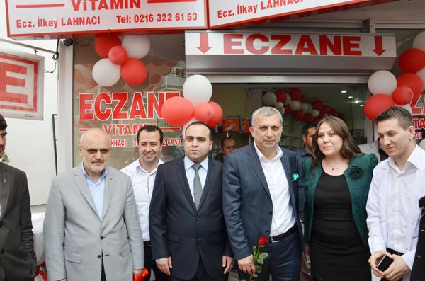 Paşabahçe Vitamin Eczanesi açıldı