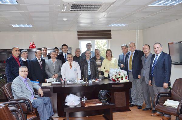 Dr. Yaşar Çelik'e hemşerilerinden ziyaret
