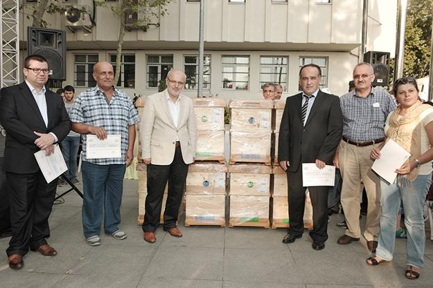 Beykoz'un arıcılarına Belediye'den 1300 kovan