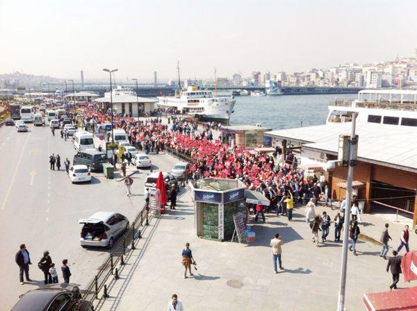 Beykoz Eminönü'ne çıkarma yaptı