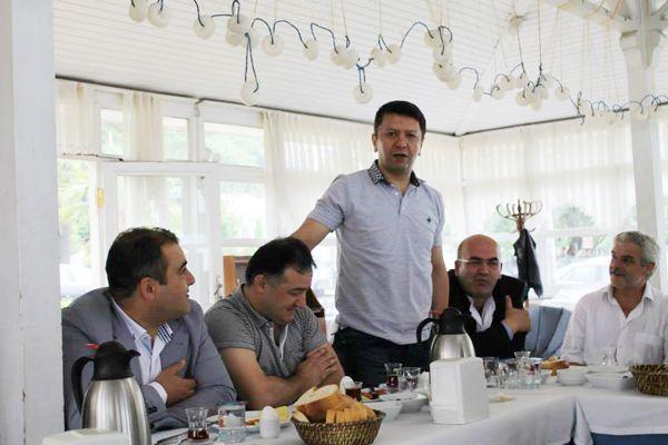 Giresun Beykoz'da masaya yatırıldı