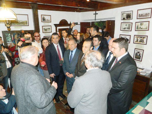 Başbakan Bağış'ı Polonezköy'e gönderdi