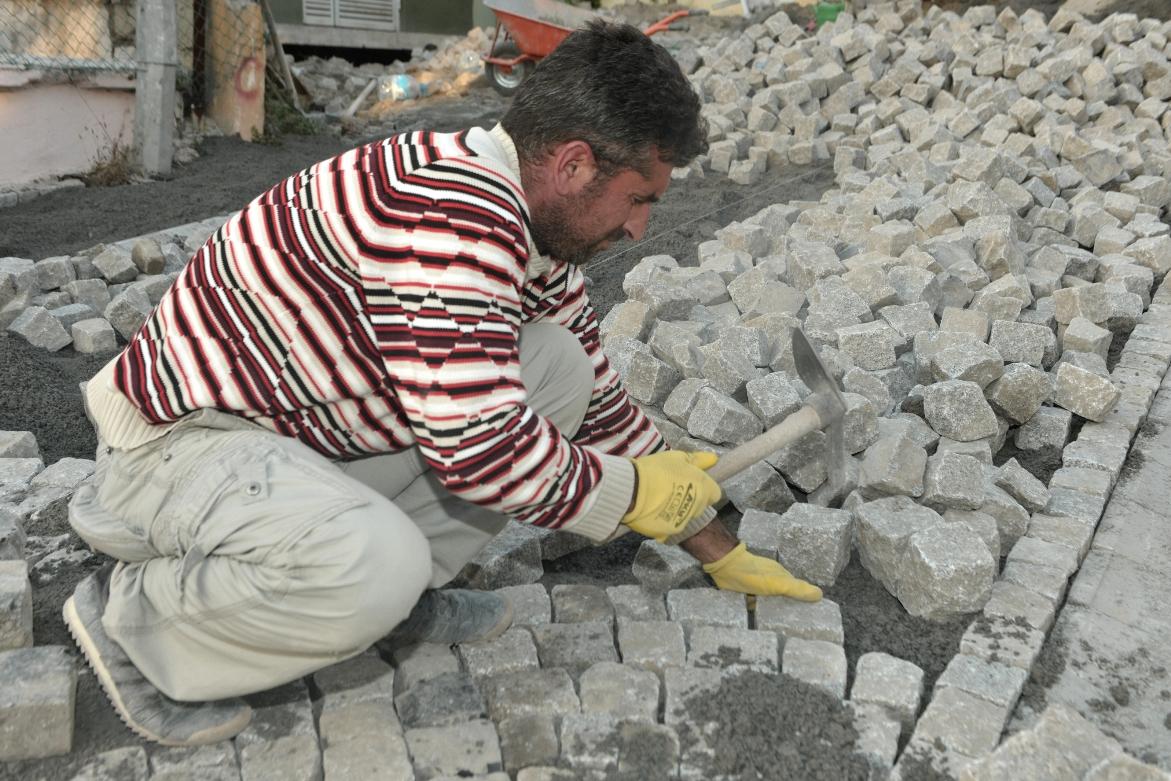 Beykoz Deri Kundura'nın Şirin Sokakları Yenileniyor