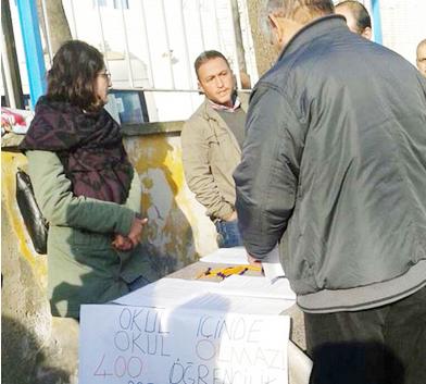 Beykoz'da öğrenci velileri isyan etti