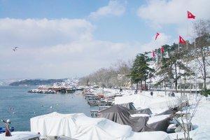 Beykoz'da kar alarmı verildi!