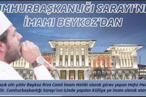 Mehmet Bilir Cumhurbaşkanlığı Sarayı'nın imamı oldu