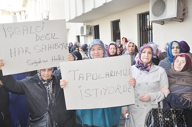 Beykozlu Karadeniz kadını haykırdı: 'Yedirtmeyiz!'