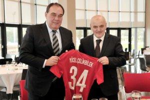 Başkan Çelikbilek'ten TFF Riva Tesisleri'ne ziyaret