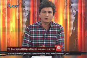 İBB'nin çiçek bütçesini Muharrem Kaşıtoğlu savundu