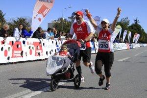 Beykoz'dan Antalya'ya 'Adım Adım koşmak' için gittiler
