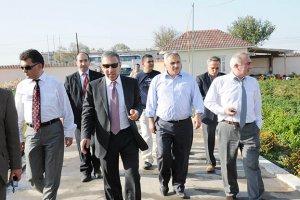 Muharrem Ergül'den Ali İnci'ye ziyaret