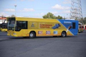 Mobil İstanbulkart Başvuru Merkezi iki hafta Beykoz'da