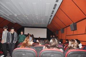 Beykoz'da öğrenciler Çanakkale için sinema kapattı!
