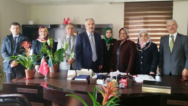 Kent Konseyi Başhekimi ziyaret etti