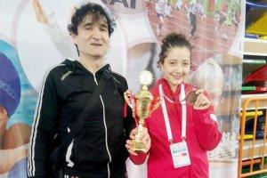 Beykozlu Berranur, Konya'da 3. oldu