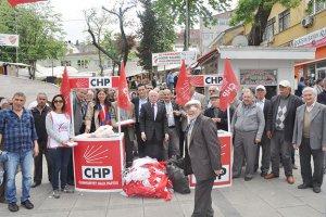 CHP Beykoz'da saha çalışmalarına başladı