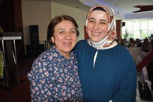 Beykoz'da annesiyle demokrasi dersi verdi