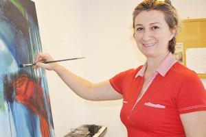 Beykoz'da resime ilgi büyüyor