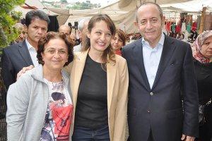 CHP Milletvekili Şafak Pavey Beykoz'da Hamzaçebi'yi şaşırttı