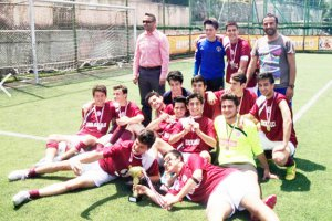Beykoz'da liselilerin futbol yarışı