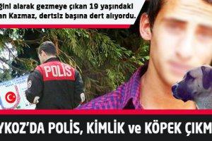 Beykoz'da polis, kimlik ve köpek çıkmazı