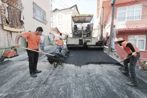 Beykoz'da asfalt seferberliği başladı