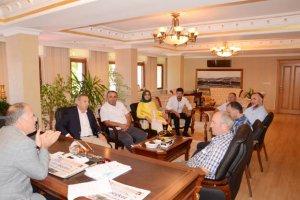 Dost Beykoz'dan Kaymakam Katırcı'ya ziyaret