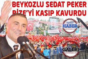 Beykoz'dan Rize'ye uzanan Sedat Peker sevgisi