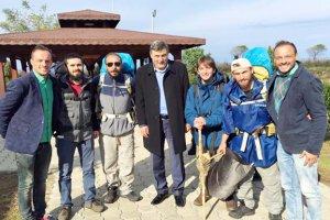 Beykoz'dan Karadeniz'e Barış Yürüyüşü'nün serüveni