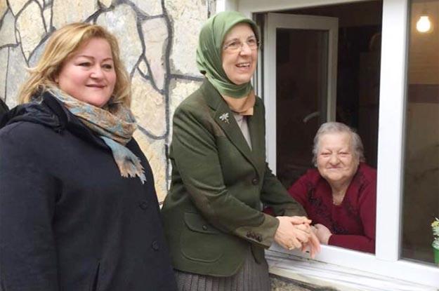 Beykoz, Aile Bakanı'na rol verdi